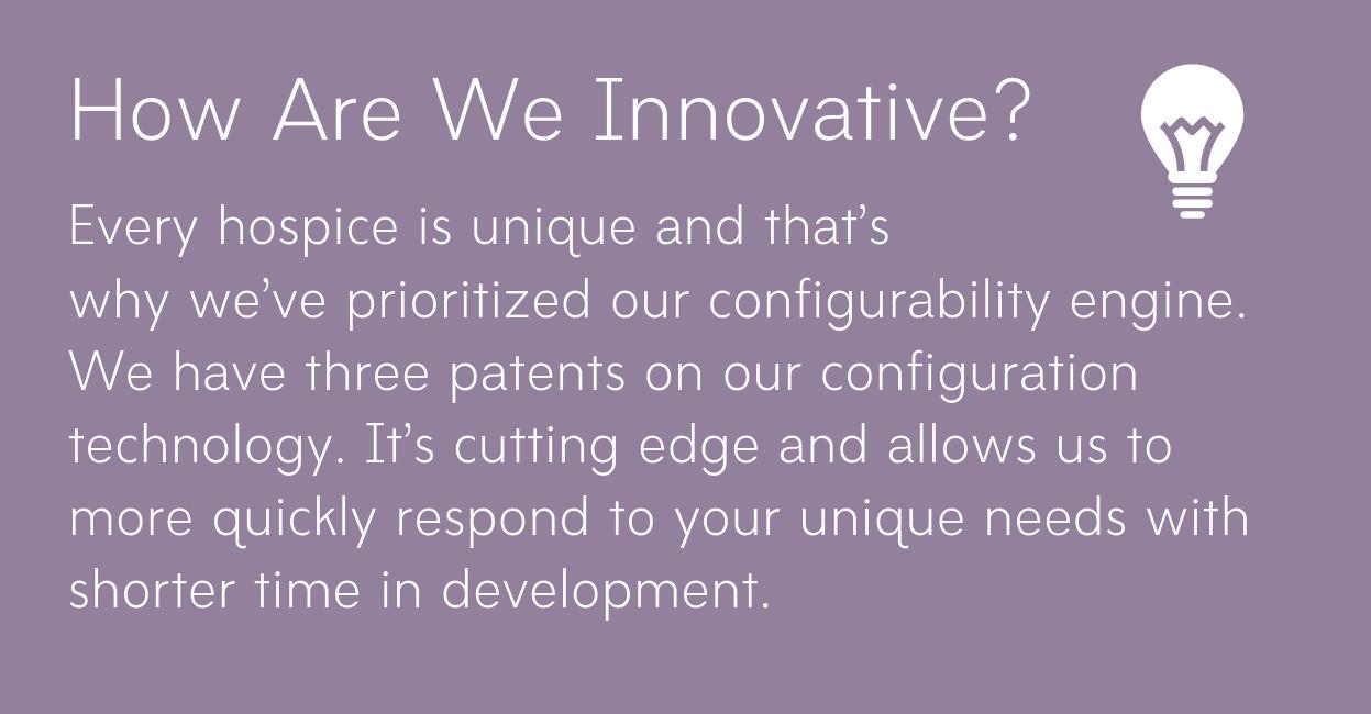 innovation web copy